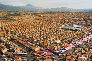 47,547 Homes. Ixtapaluca, Estado de Mexico.  30 x 40"