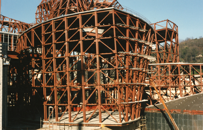 Building the symbol of a remarkable transformation mas - Steel framing espana ...